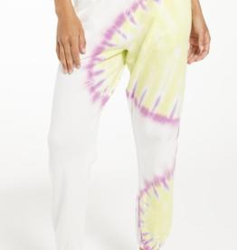z supply sunburst tie dye joggers