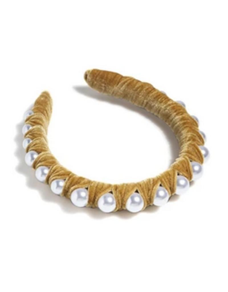 shiraleah woven pearl headband