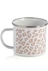 shiraleah leopard enamel mug