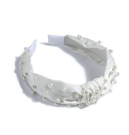 shiraleah pearl headband - ivory