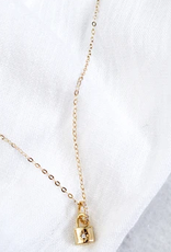 blaire lock necklace