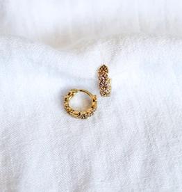 ophelia huggie earrings