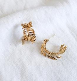 voyage hoop earrings
