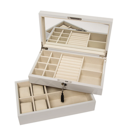 Brouk stackable jewelry box & watch tray