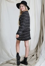 cali mini tweed skirt FINAL SALE