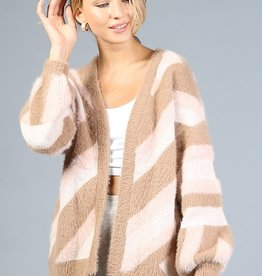 eyelash knit cardigan