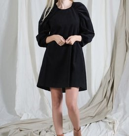 katey puff sleeve dress
