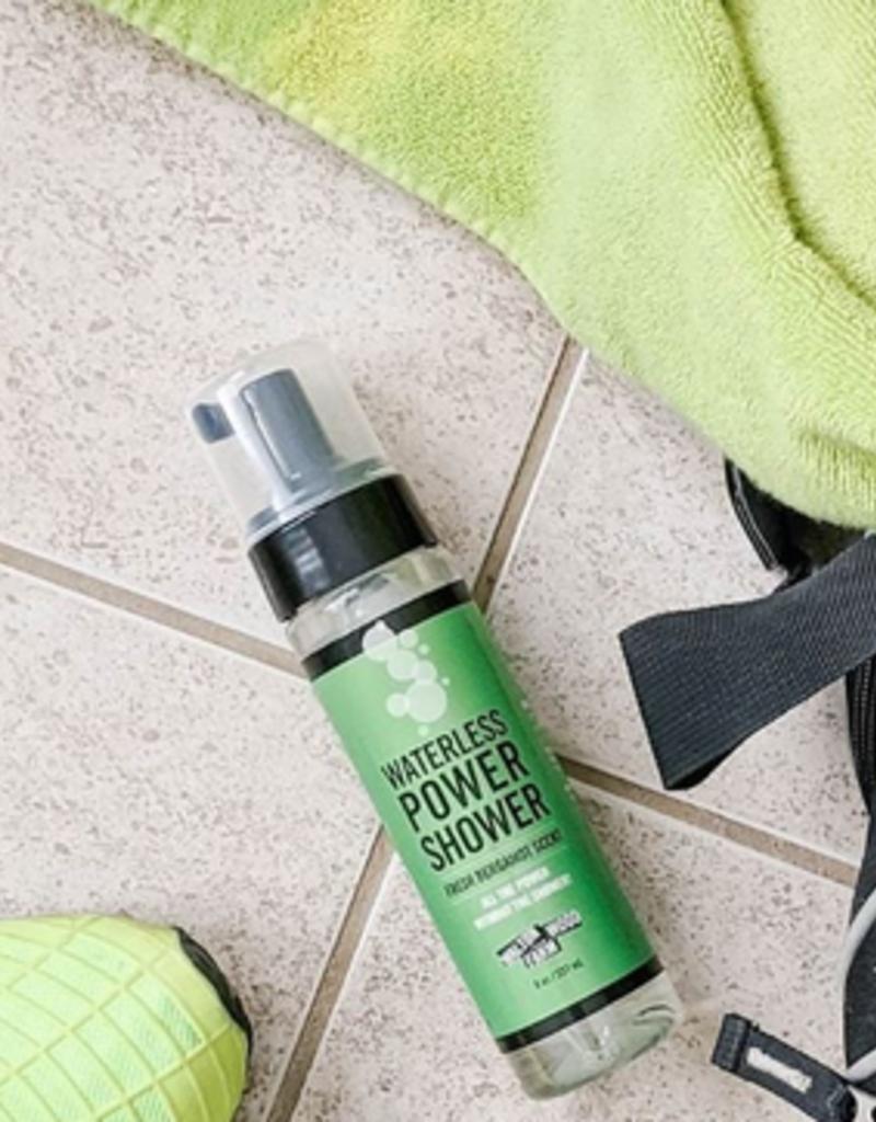 waterless power shower