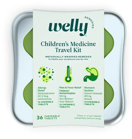 children's medicine travel kit