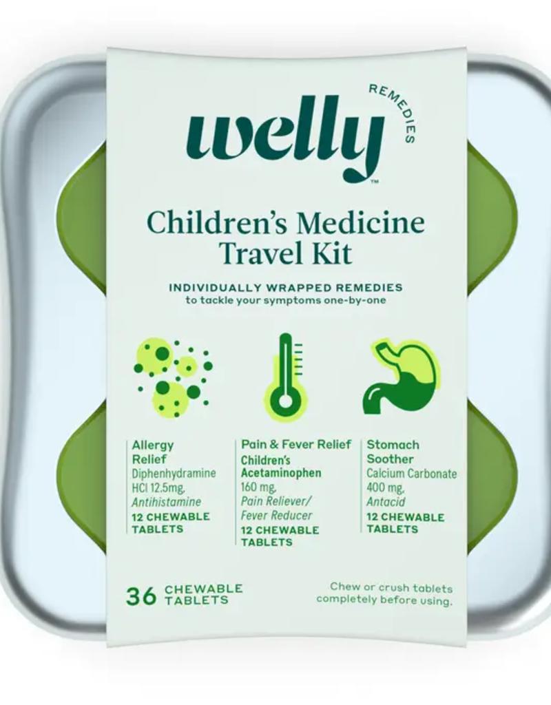 children's medicine travel kit
