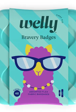 bravery badges 48 count