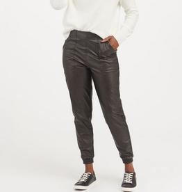 spanx leather-like jogger