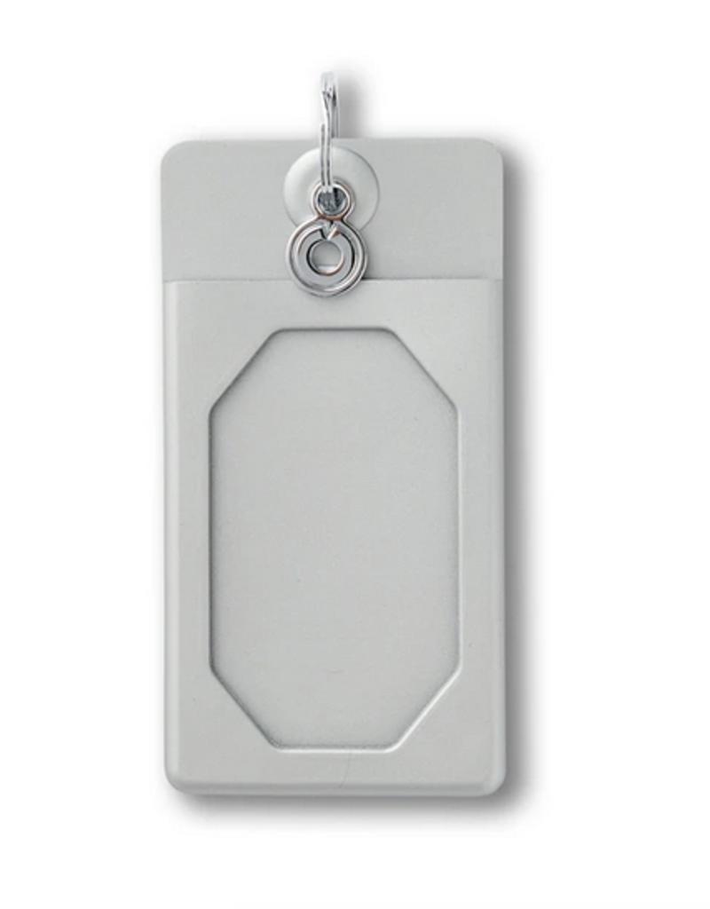 oventure solid quicksilver silicone id case final sale