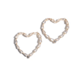 shiraleah felitz heart crystal earring