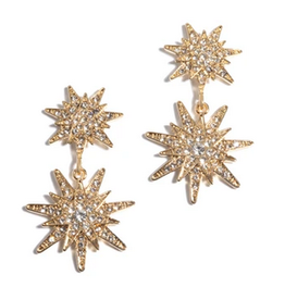 shiraleah felitz starburst crystal earrings