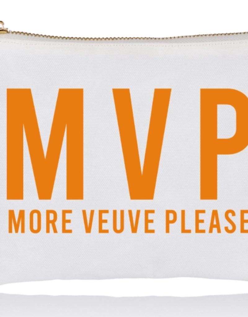 more veuve please jumbo zip pouch