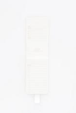 vegan leatherette notepad