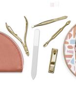 vegan leather manicure kit