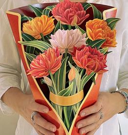Fresh cut Paper pop up flower bouquet