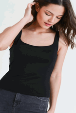 square neck cropped tank LC
