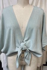 kimono tie top