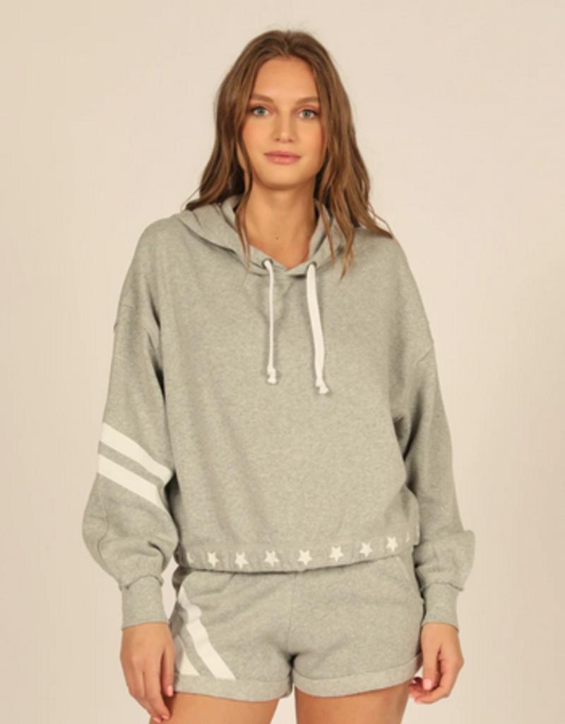 stars & stripes fleece hoodie