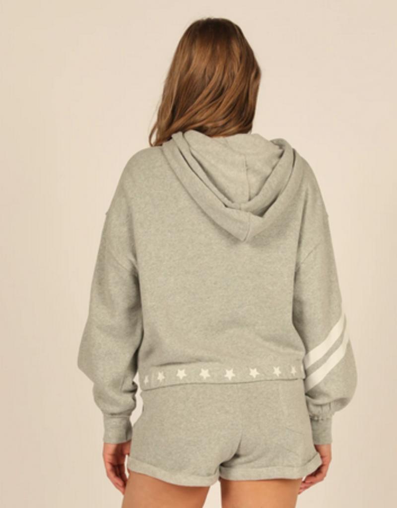 stars and stripes fleece hoodie