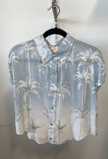 bleached palm button up top