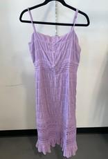avery tulip lace maxi dress