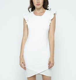 kimi ruffle sleeve dress