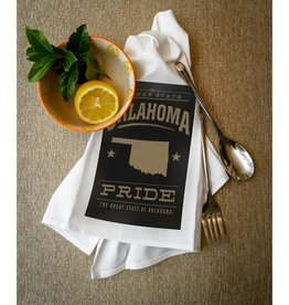 lantern press oklahoma pride towel