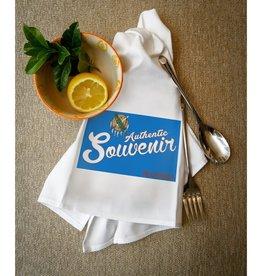 lantern press souvenir oklahoma  towel