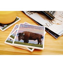 lantern press oklahoma buffalo coaster