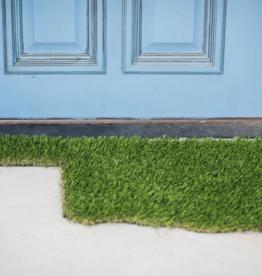 green oklahoma grass doormat