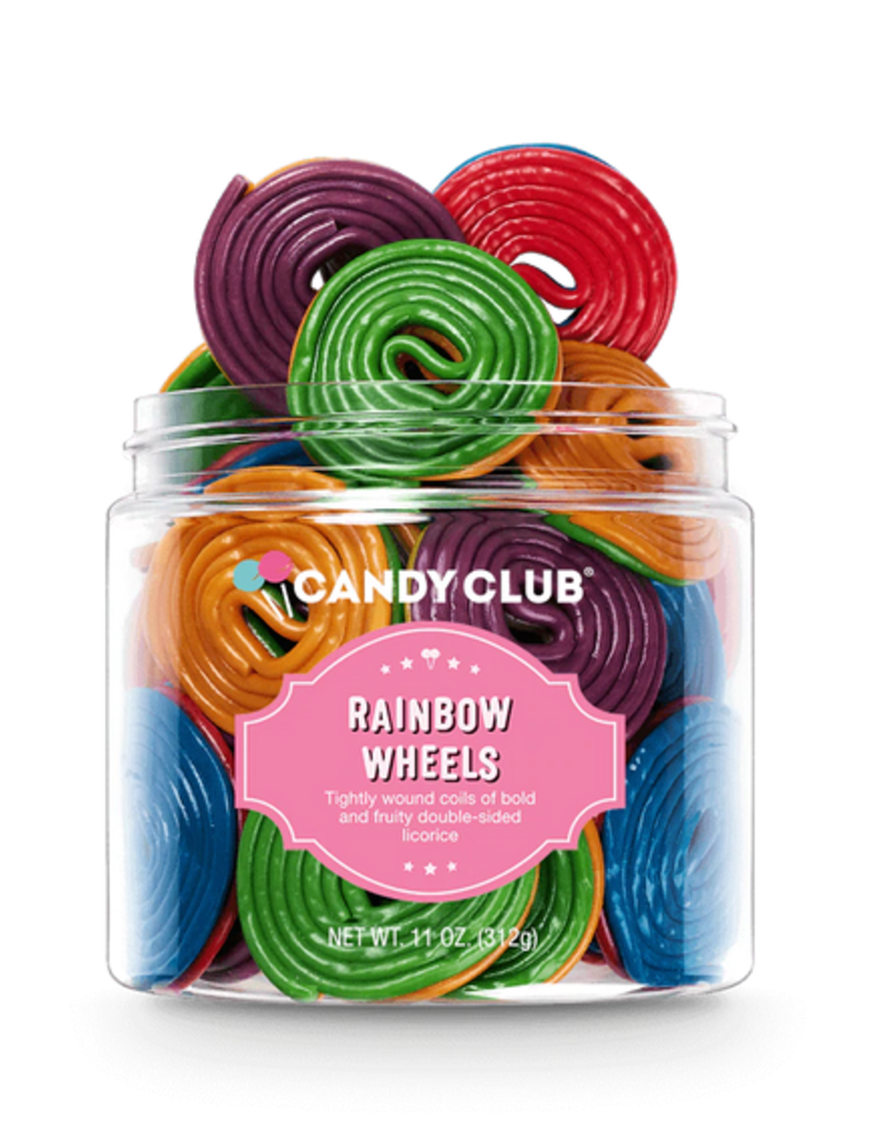 Candy Club rainbow wheels 11oz
