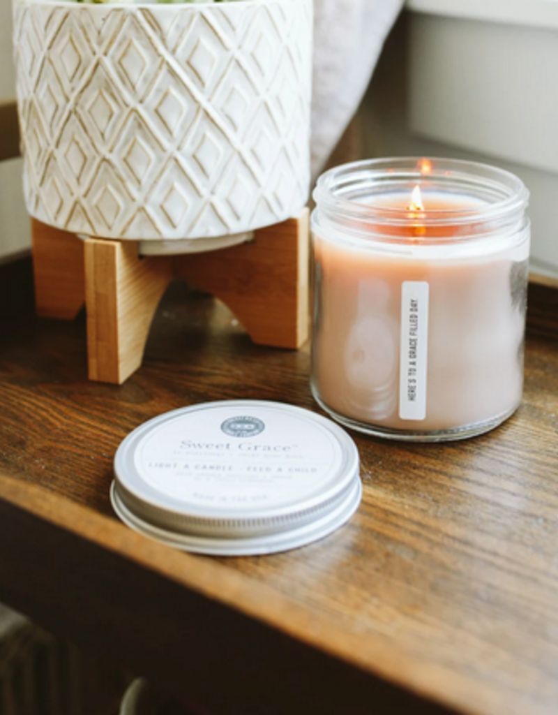 sweet grace candle #037