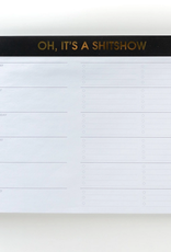 chez gagne shitshow weekly planner