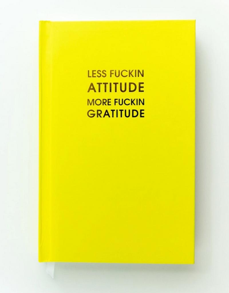 chez gagne less attitude more gratitude journal