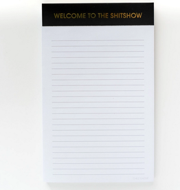 chez gagne welcome to the shitshow notepad