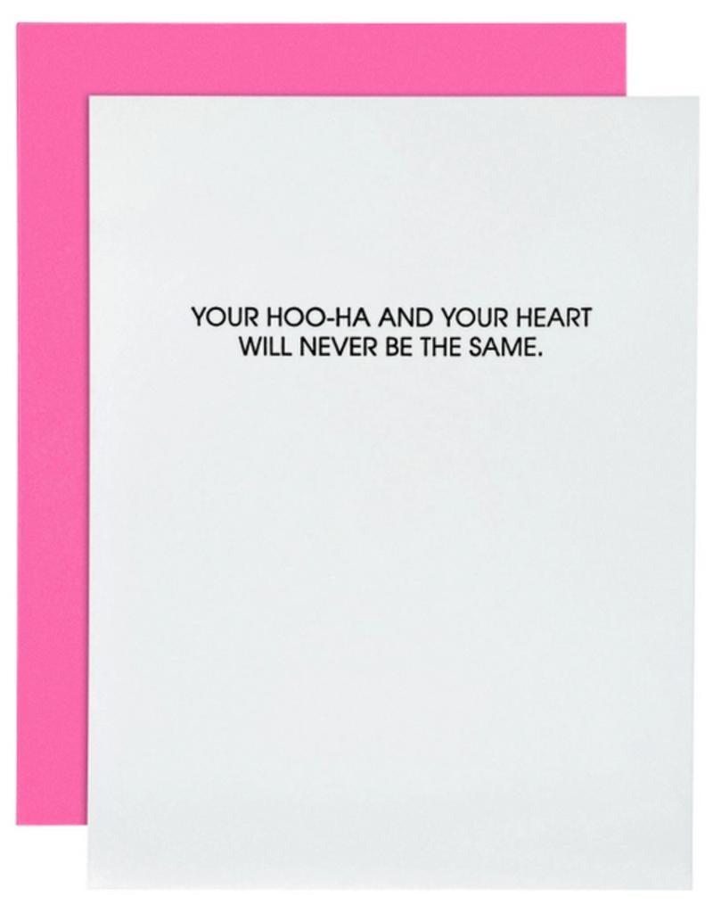 chez gagne hoo-ha & heart card