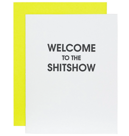 chez gagne welcome to the shitshow card