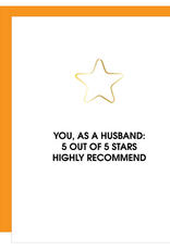 chez gagne 5 star husband card