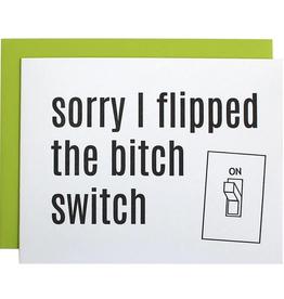 chez gagne b*tch switch card