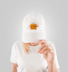 veuve hat - orange