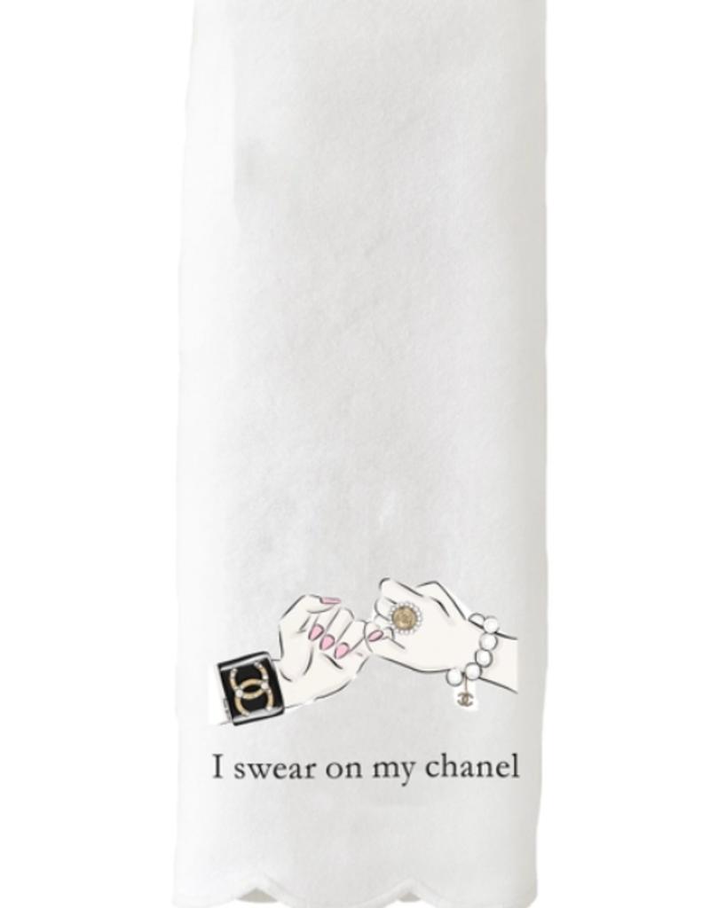 swear on my chanel towel