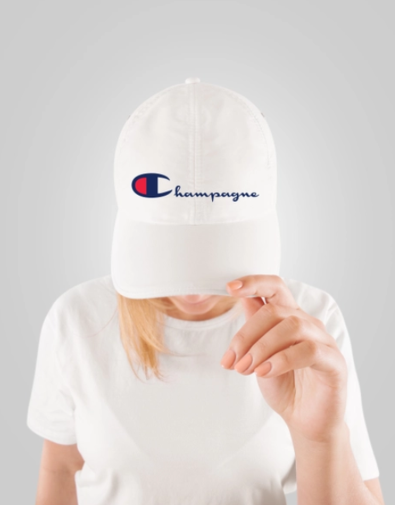 champion champagne hat