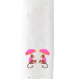 monkey business towel