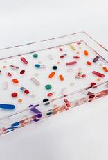 classic pills acrylic tray - small