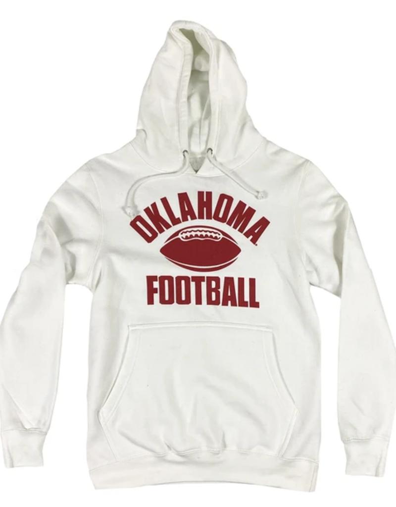 Opolis ou old school football hoodie