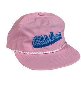 Opolis oklahoma rope snapback - pink